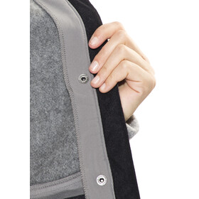 Bergans Flora Hybrid Coat Lady Solid Grey